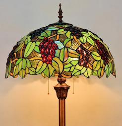 Tiffany glas in lood lamp